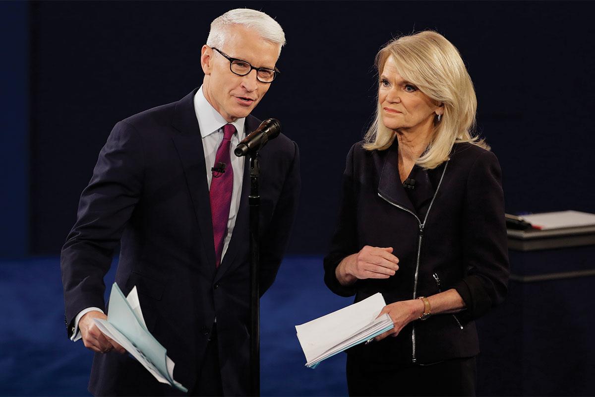 Anderson Cooper and Martha Raddatz