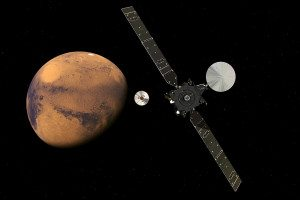ExoMars nearing the Red Planet