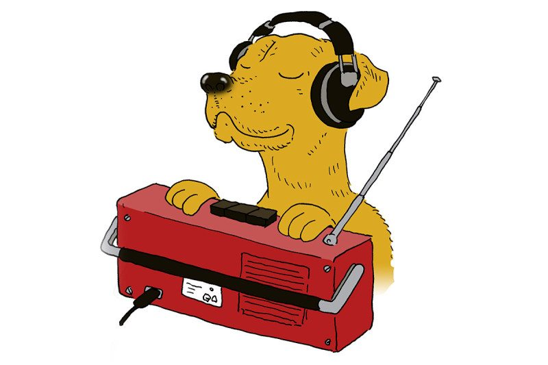 cartoon dog radio