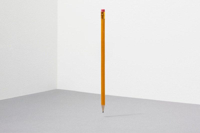 balancing pencil