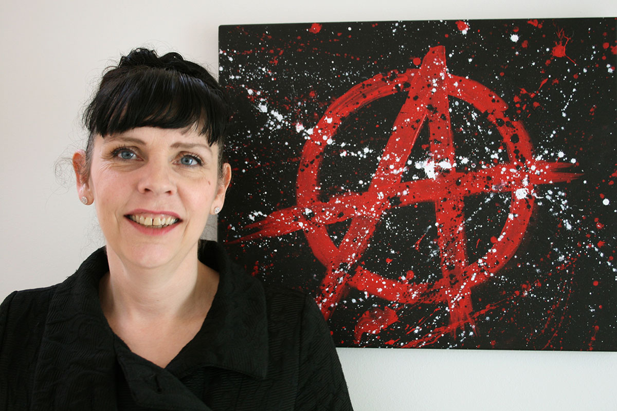 Birgitta Jonsdottir of the Icelandic Pirate party