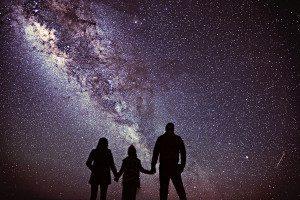 Milky way from Mauna Kea