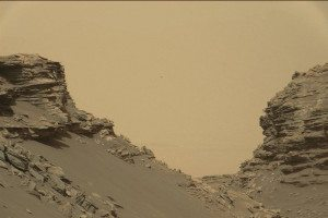 Mars's dry surface