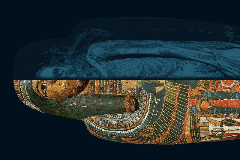 Unlocking mummies' secrets: What imaging technology tells us