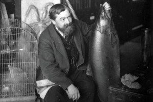 Buckland with big fish