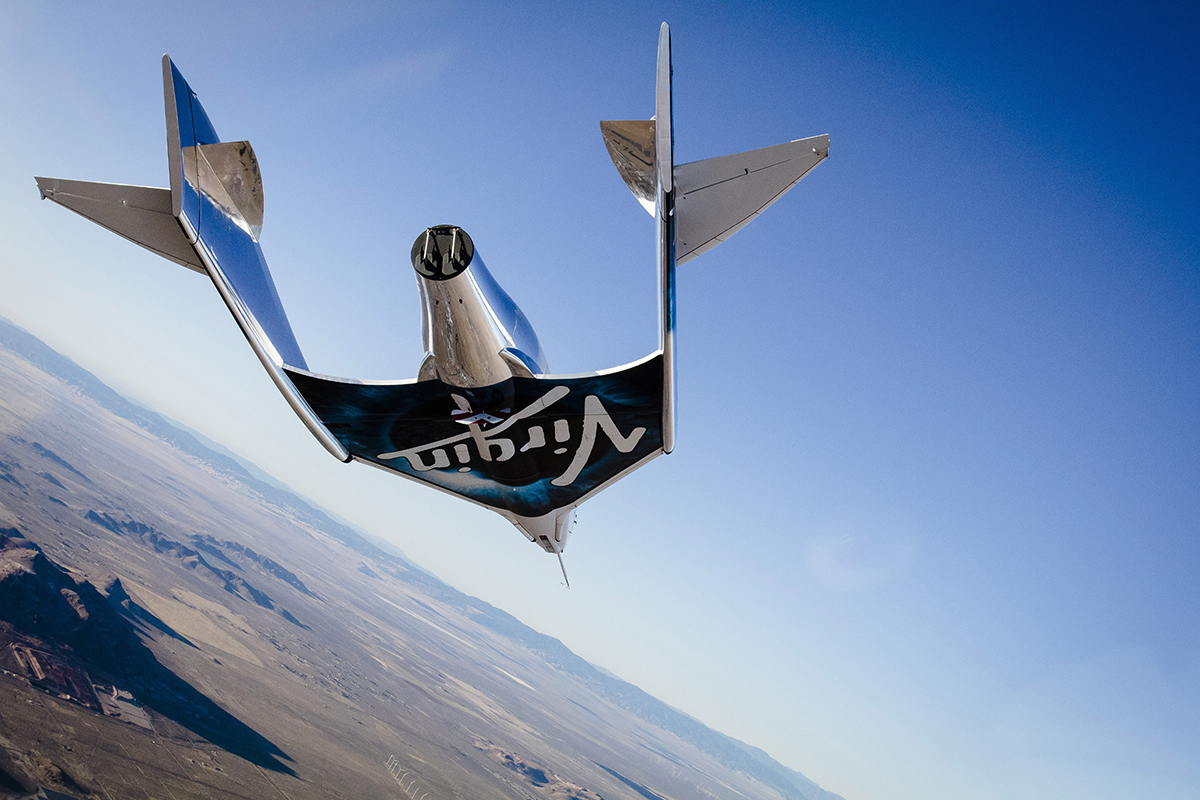 Virgin Galactic takes first solo glide flight since 2014 crash