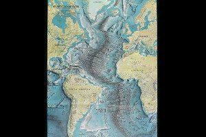 Atlantic Ocean floor: home to part of Earth's longest mountain range