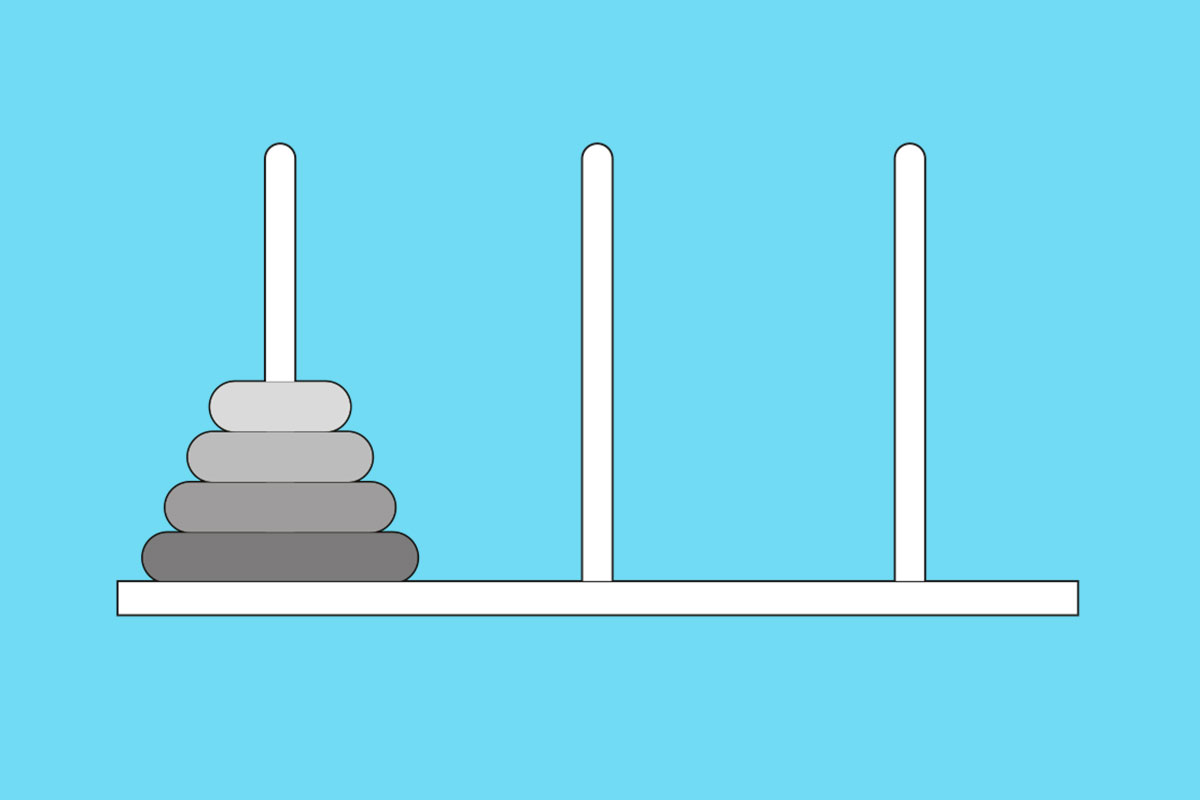 Holiday brain-off round 3: Build the Tower of Hanoi