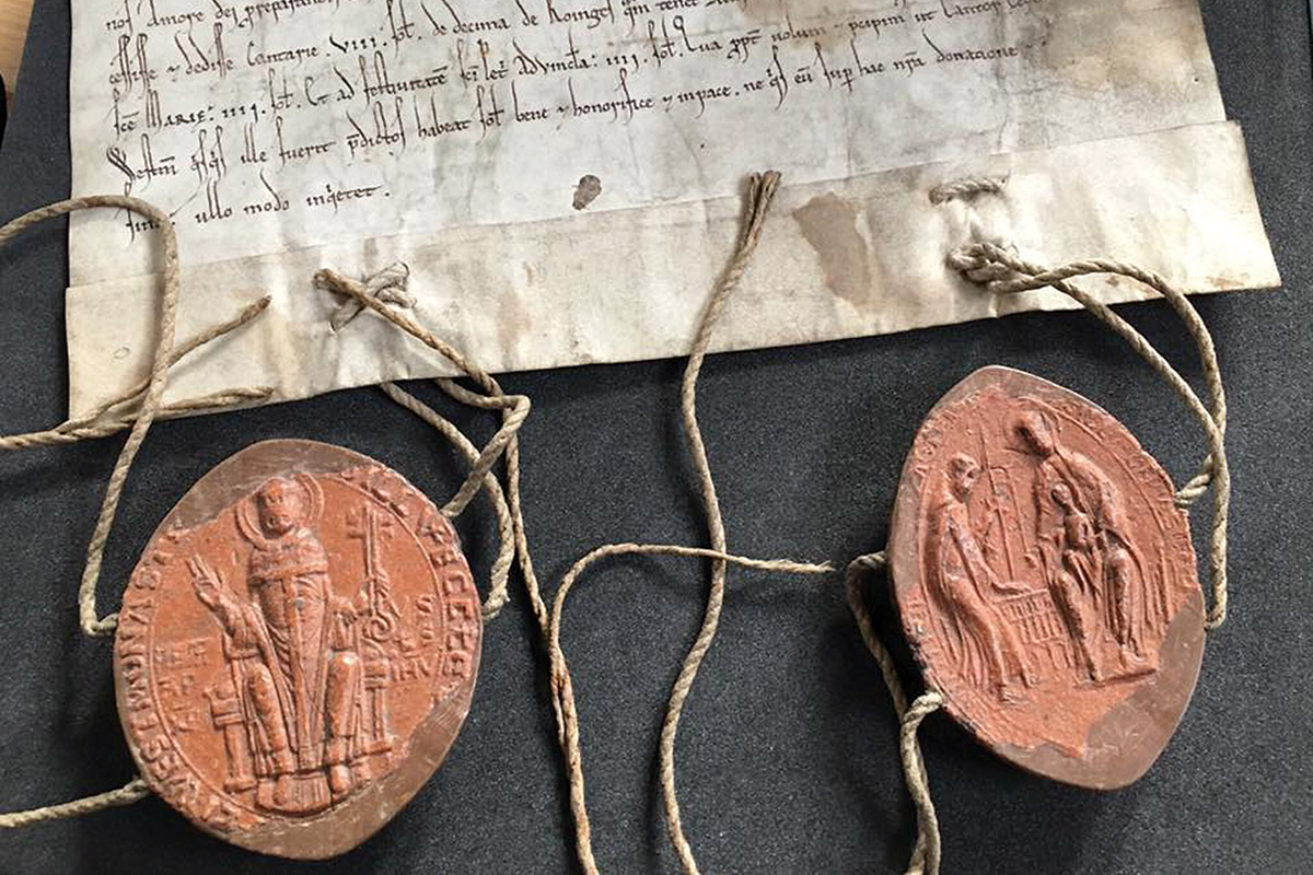 medieval wax seals are giving up fresh historical secrets