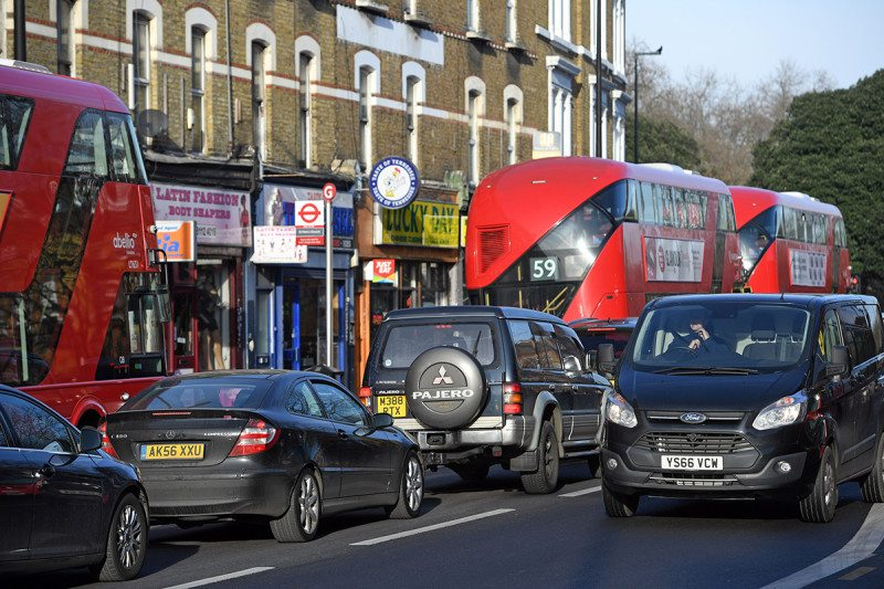 S.London road passes ANNUAL air pollution level in five days