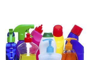 Antibacterials are added to some soaps, detergents, skincare products and household cleaner