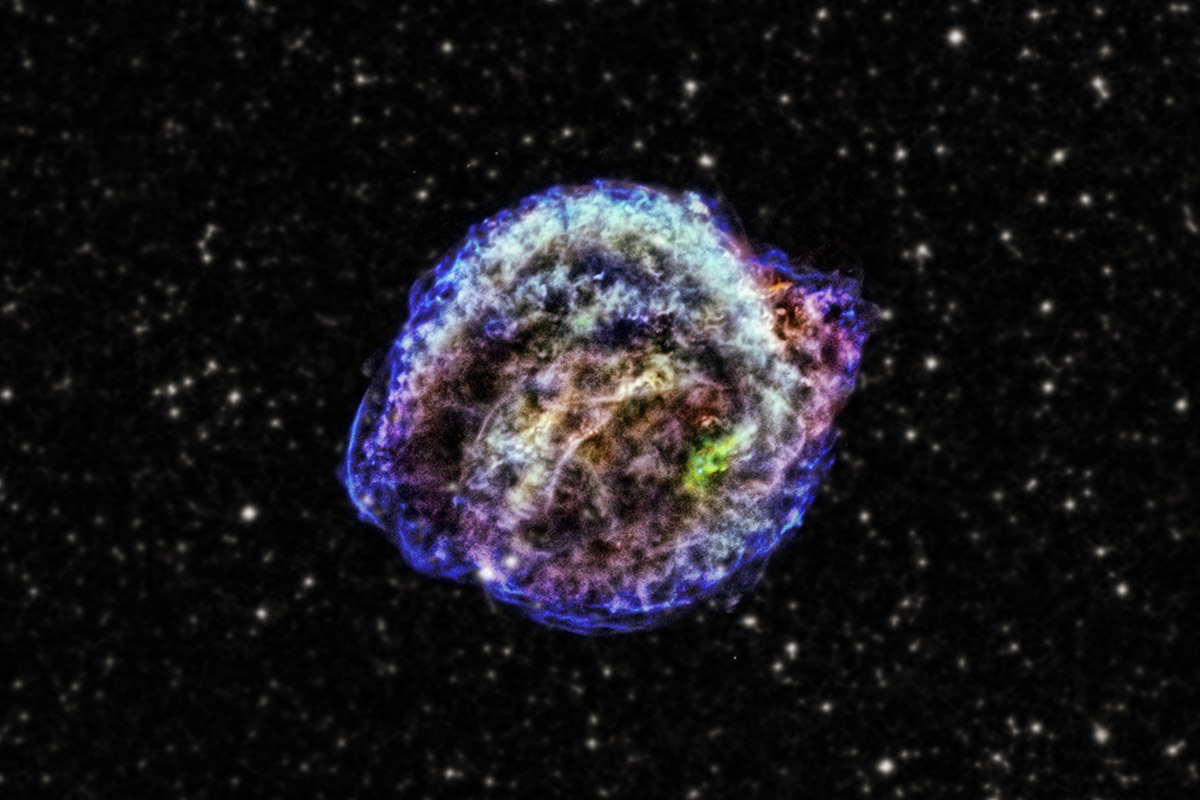Cold case: The unsolved mystery of what lit Kepler's supernova