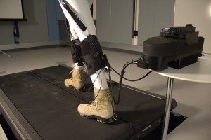 Legs showing exosuit