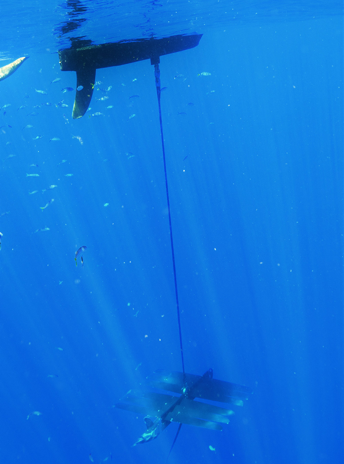 The wave-powered drone