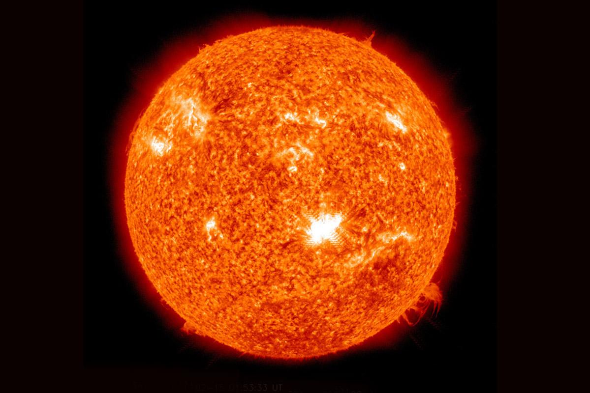 Sun's disc
