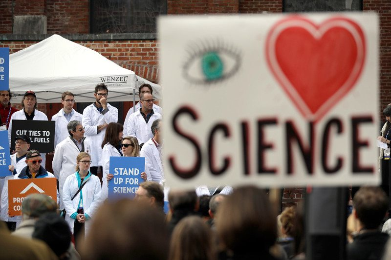 Science protest
