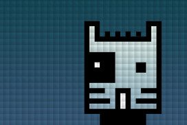 Computer image of a cat