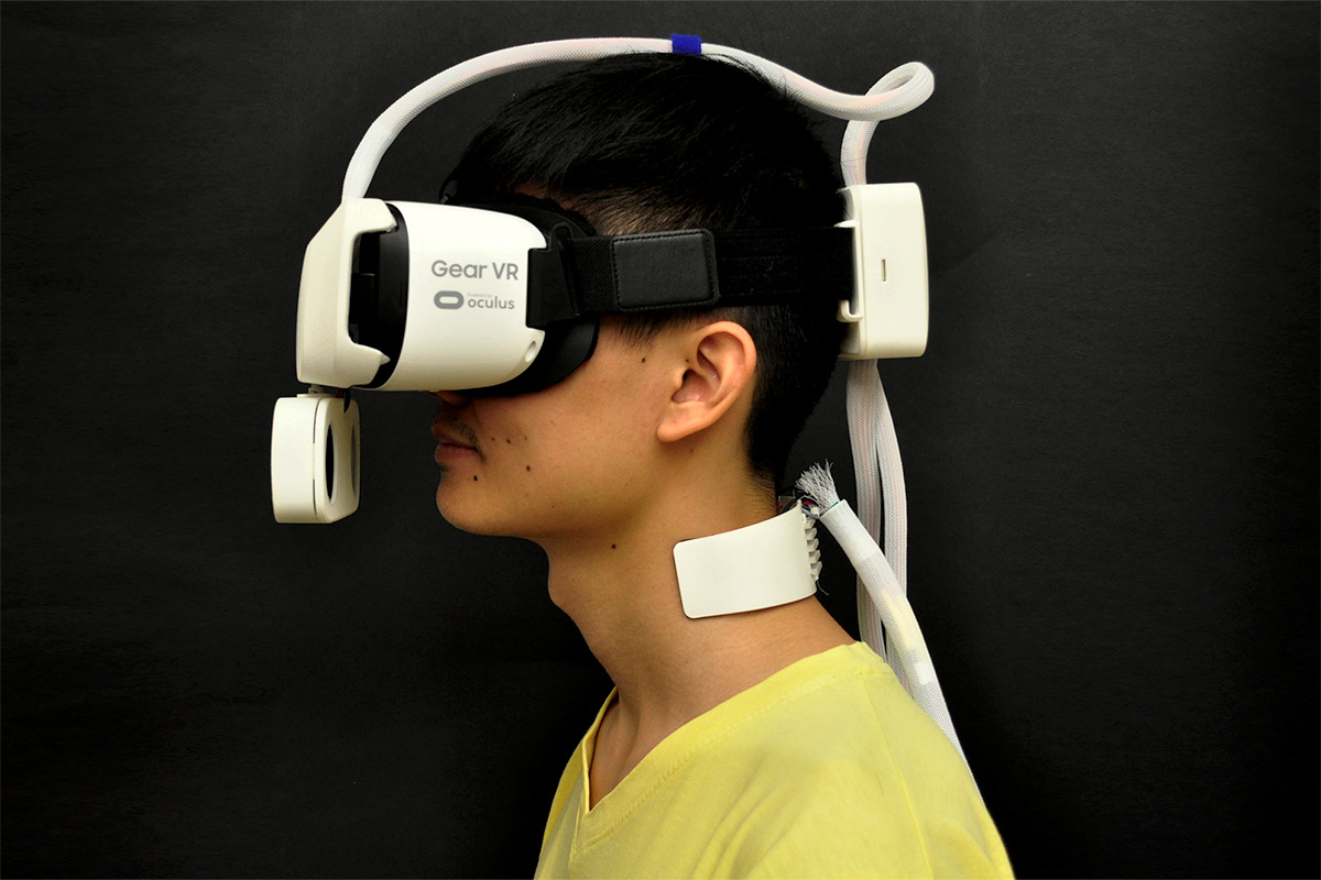 The Ambiotherm headset