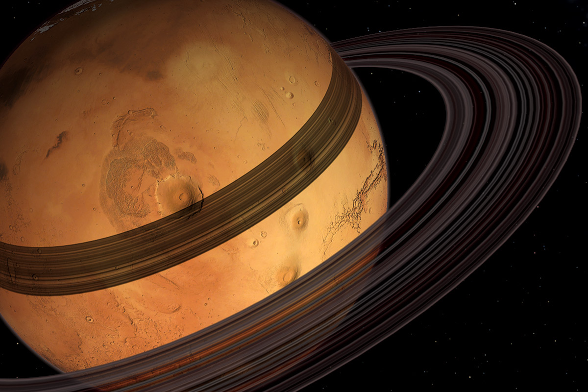 Mars might already be building rings from its moons | New ...