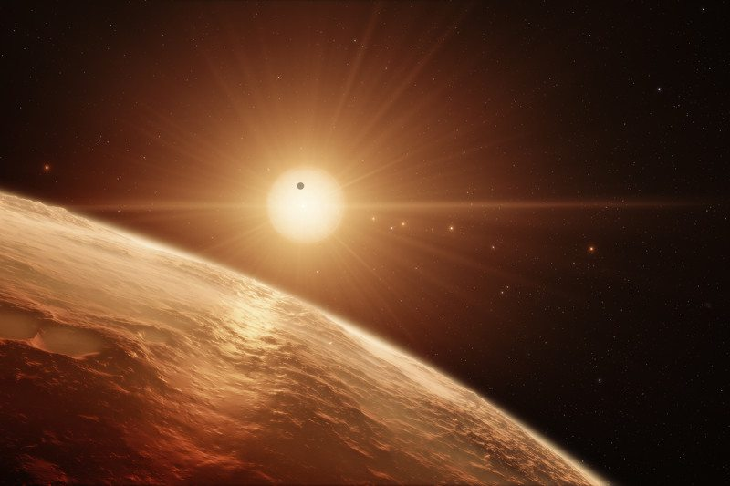 Exoplanet discovery: Seven Earth-size exoplanets may have ...