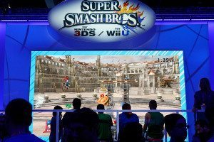 A Super Smash Bros. tournament