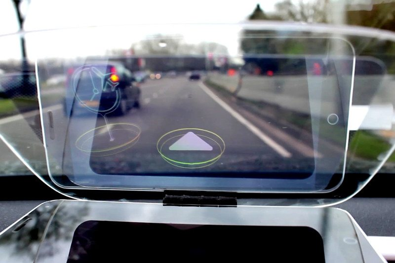 Dashboard head-up display