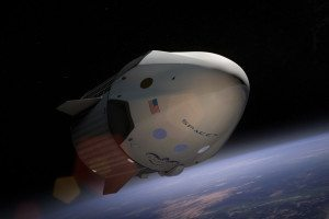 SspaceX Dragon capsule
