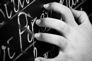 Fingernails on a blackboard
