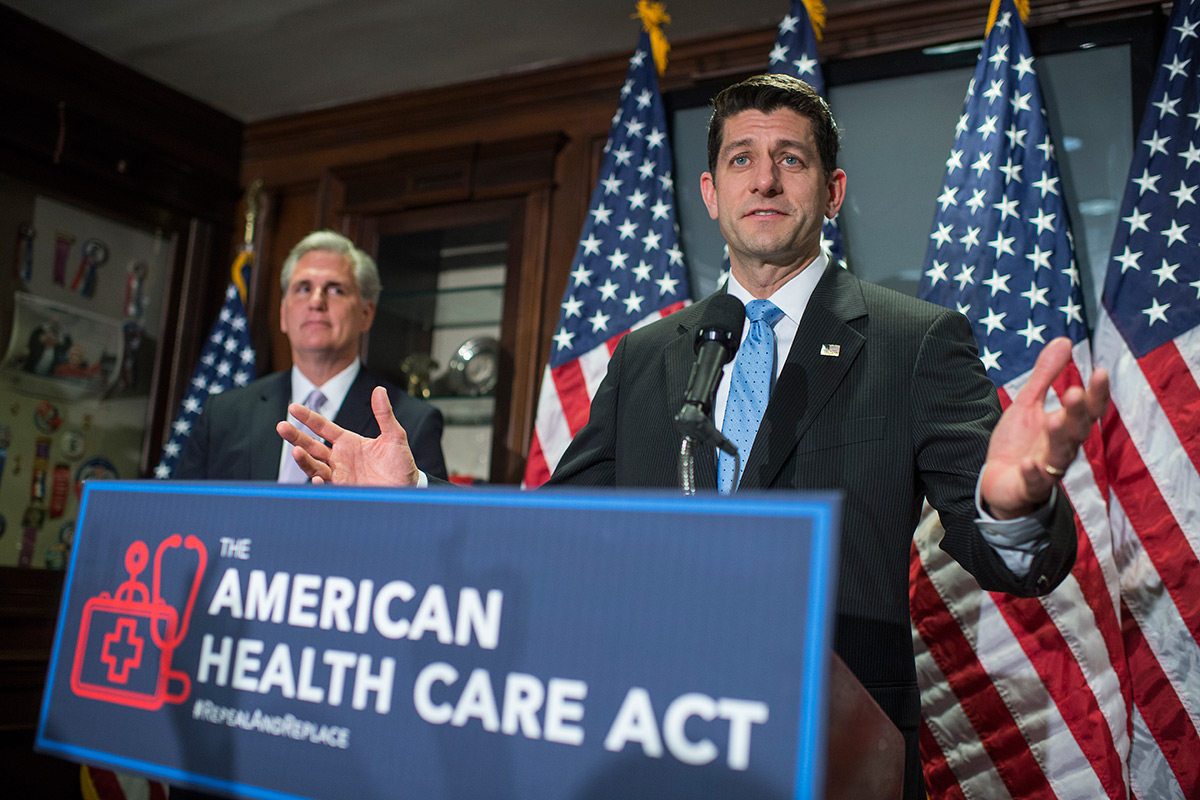 Republicans have announced a new healthcare plan to replace the Affordable Care Act