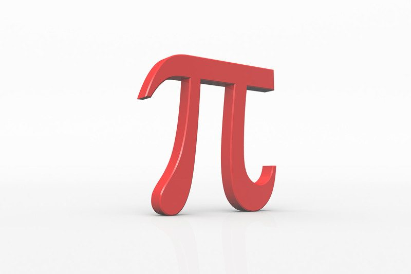 Pi is the sixteenth letter of the Greek alphabet. In the system of Greek numerals it has a value of 80. Most notably, pi is the ratio of a circle's circumference to its diameter in Euclidean geometry. The Greek alphabet has an important role in the nomenclature of astronomical bodies and subatomic particles.