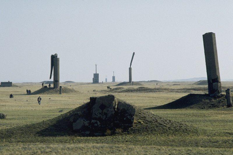 Semipalatinsk nuclear test site in Kazakhstan