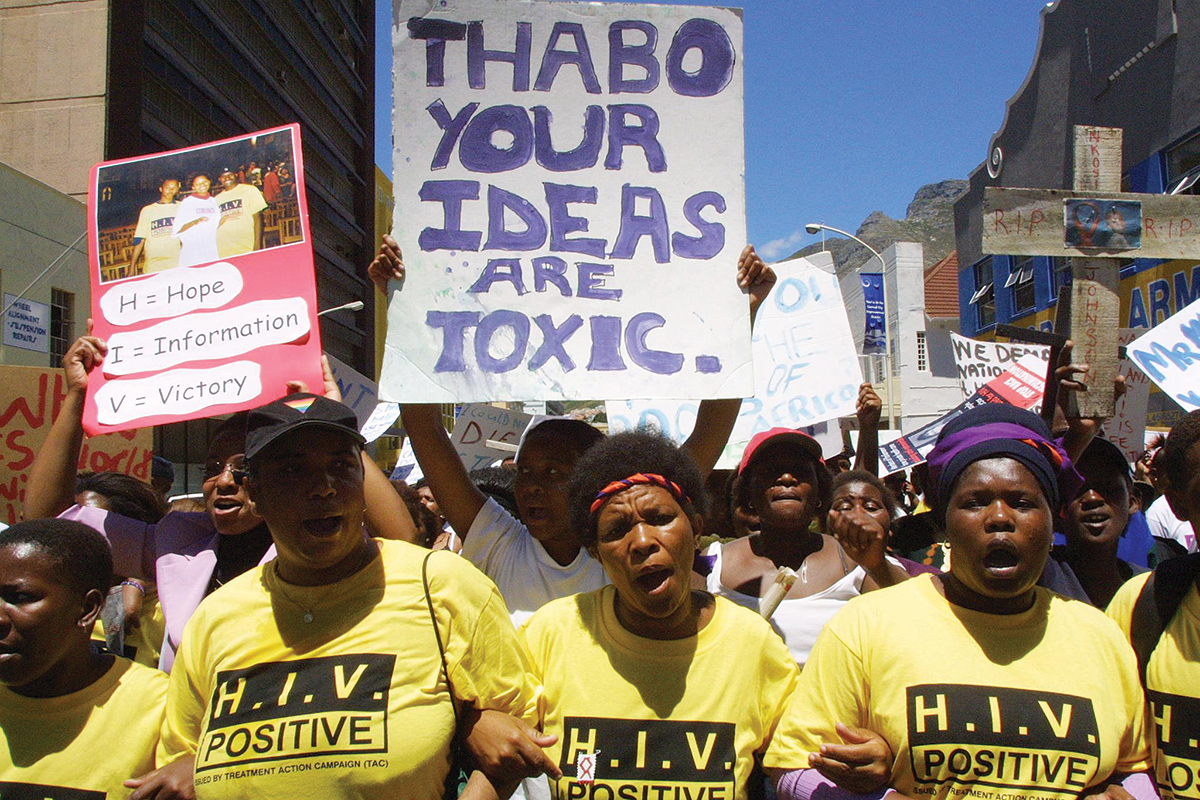 Beetroot for AIDS: Fighting denialism in Mbeki's South ...