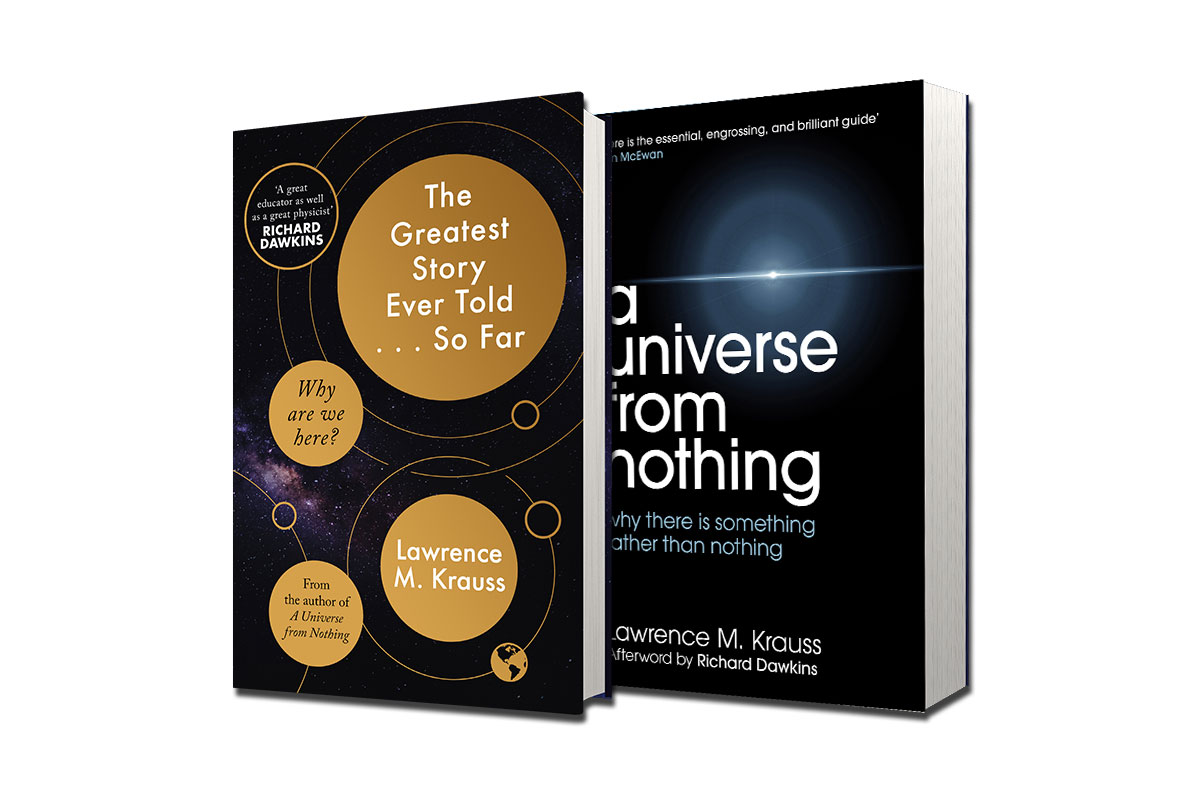Win a pair of signed books by Lawrence M. Krauss