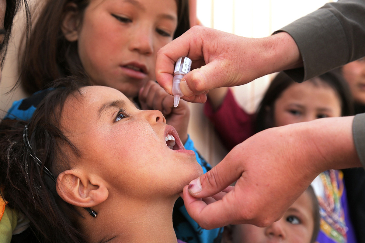 Edited live vaccine could stop harmful polio outbreaks