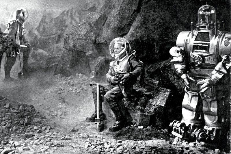 Sci-fi space