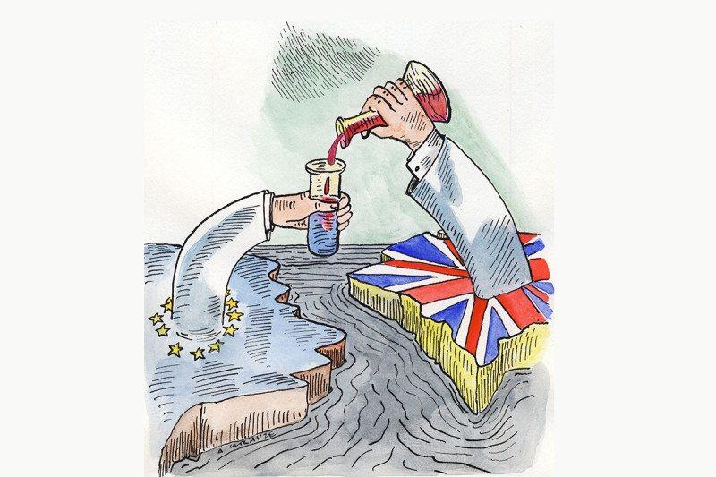 brexit cartoon