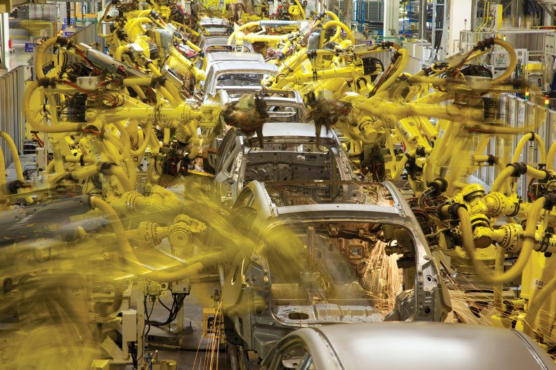 Car production line