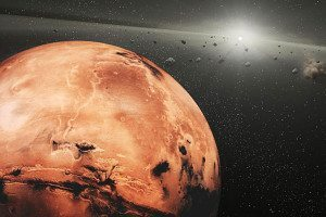 Mars and asteroids