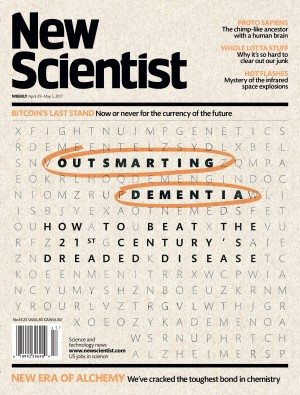 New Scientist dementia cover