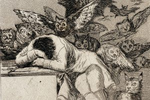 A Goya etching published in 1799
