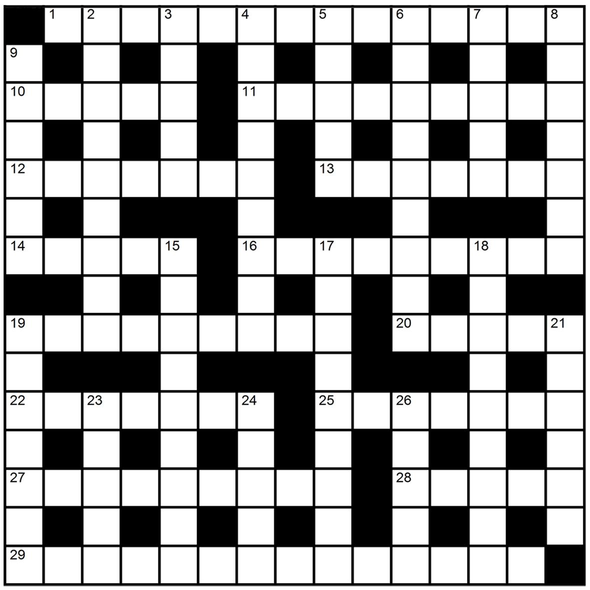Crossword 5 new scientist for Fishing net crossword clue
