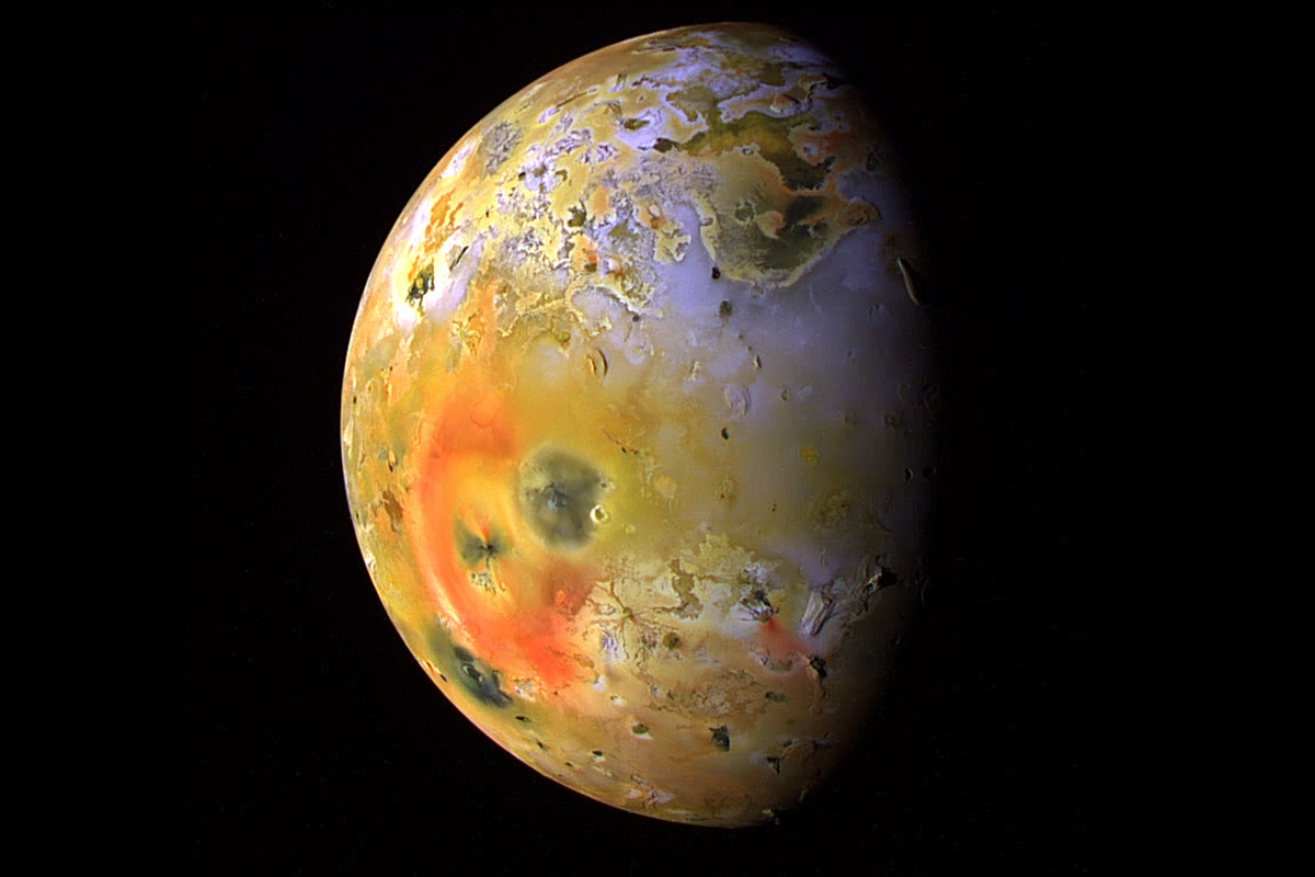 Loki Patera on Jupiter's innermost moon is a giant bowl of molten rock