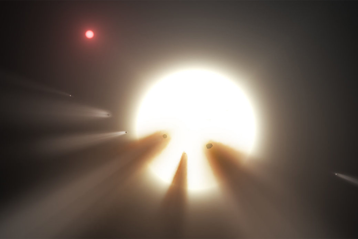 The weirdest star in space is acting weird again. Is it aliens?""
