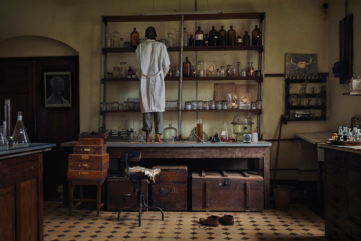 Nearly Abandoned Lab In Tanzanian Mountains Is 70s Time