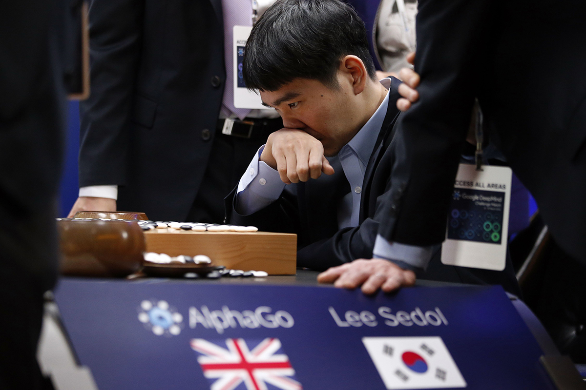 AlphaGo beat Lee Sedol