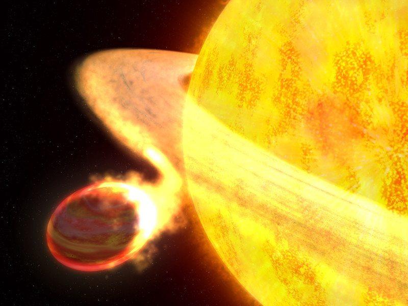 KELT-9b and its star