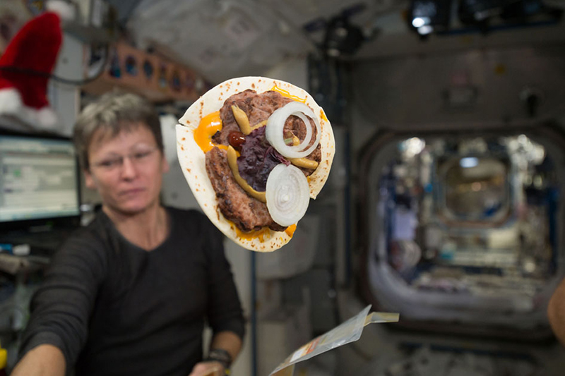 Crumb-free bread will mean ISS astronauts can now bake in space