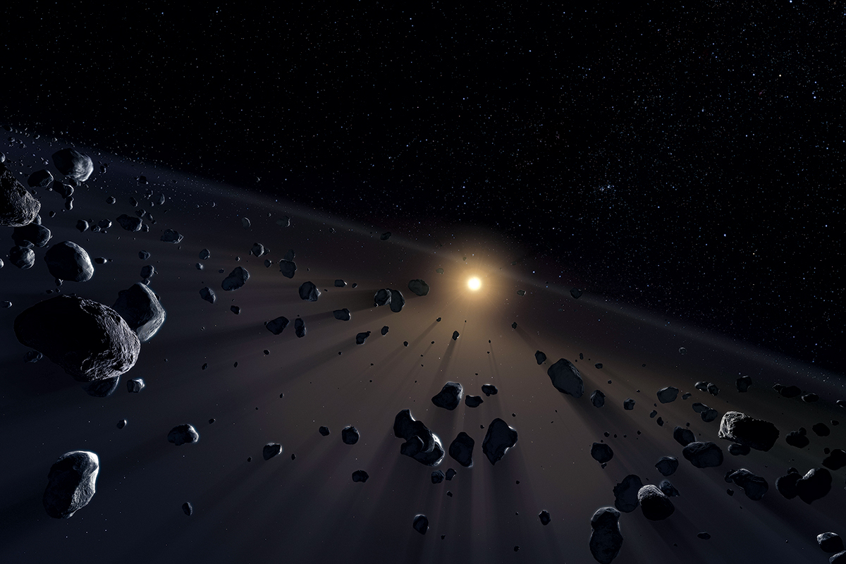 Weird orbits hint 'Planet Ten' might lurk at solar system edge