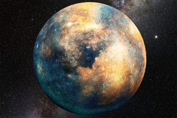 An artist's impression of Planet Ten