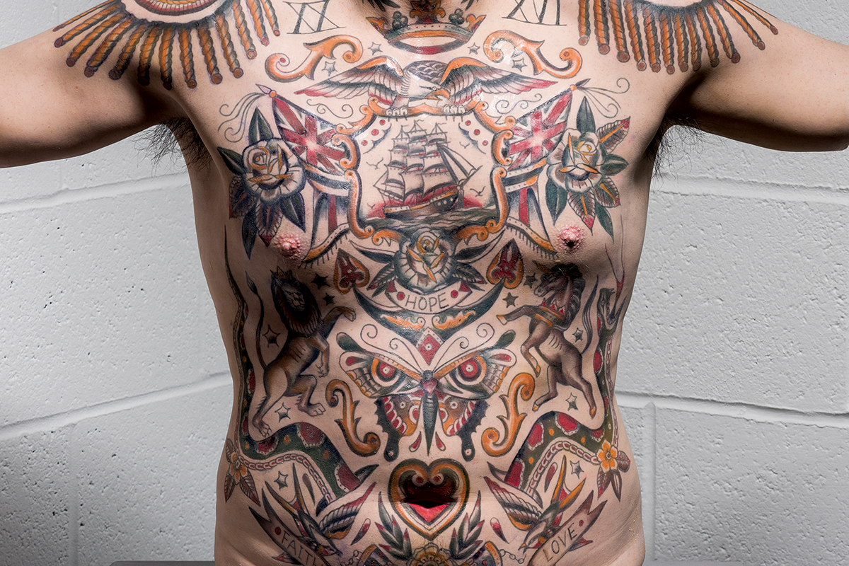 Tattoos how the art gets under our skin new scientist for Skin gallery tattoo